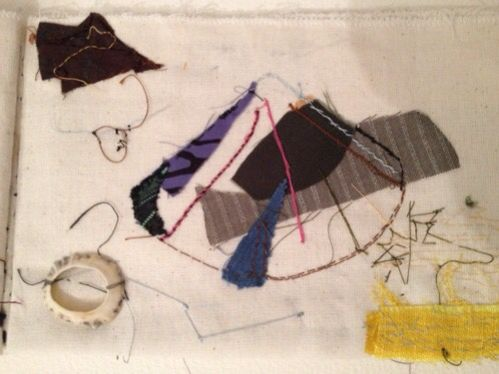 Gray galbraith'A page from my fabric sketch book'