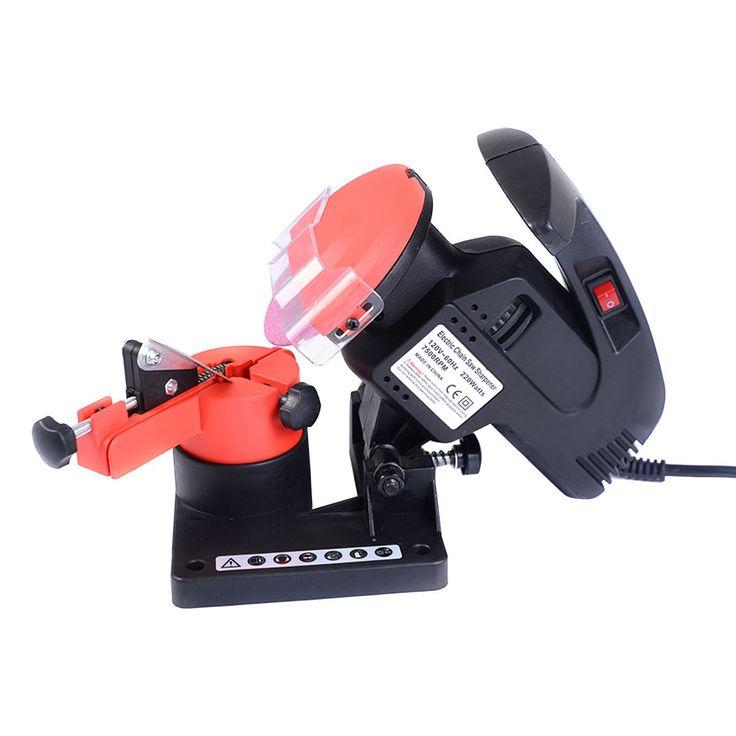 Portable Electric Chainsaw Sharpener Chain Blade Grinder 7500 RPM HD New - Lawn & Garden - Home & Garden