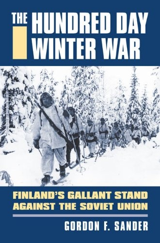 A bestseller in Finland, the English-language version of Sander's book draws on interviews with both Finnish and Russian veterans of the war, in addition to a bountiful archive of articles from both the Western and Finnish press. (not my caption).