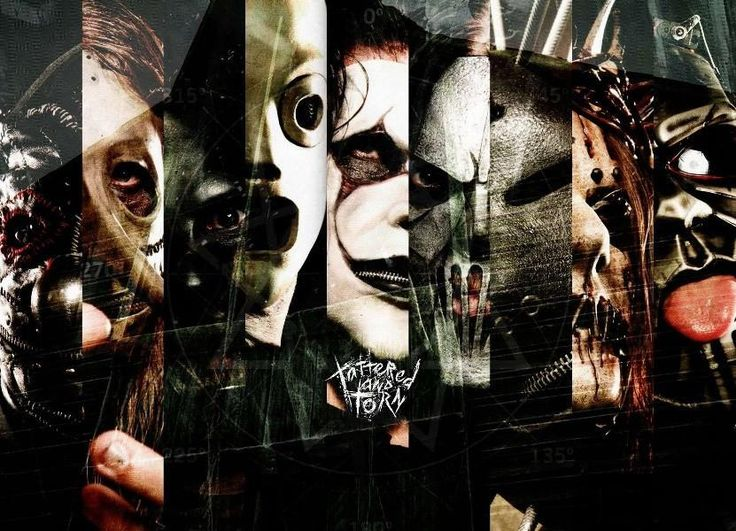 SLIPKNOT nu metal groove metal heavy abstract music art Canvas Wall Poster