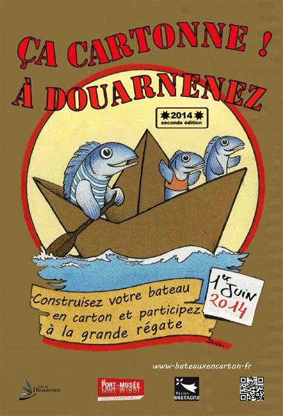 LA GRANDE REGATE DES BATEAUX EN CARTON : 2e édition à Douarnenez le 1er juin 2014 >>> http://seasailsurf.com/seasailsurf/actu/+8308-LA-GRANDE-REGATE-DES-BATEAUX-EN-CARTON-2e-edition+