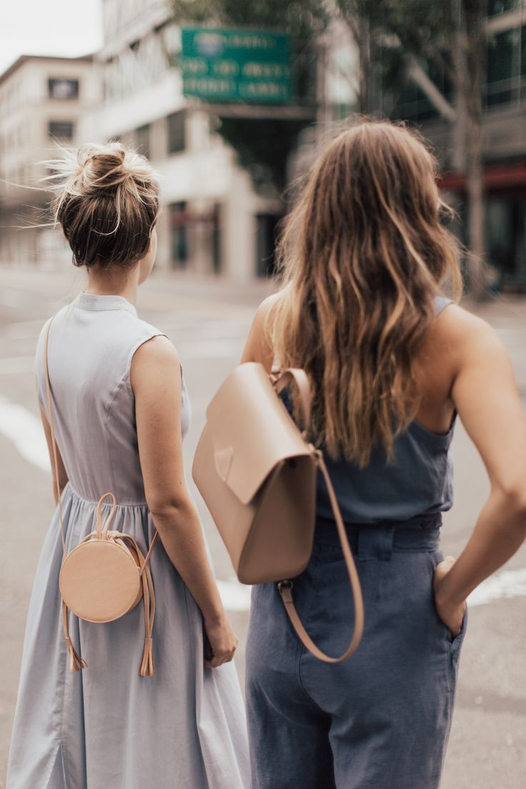 {Leather bags.}