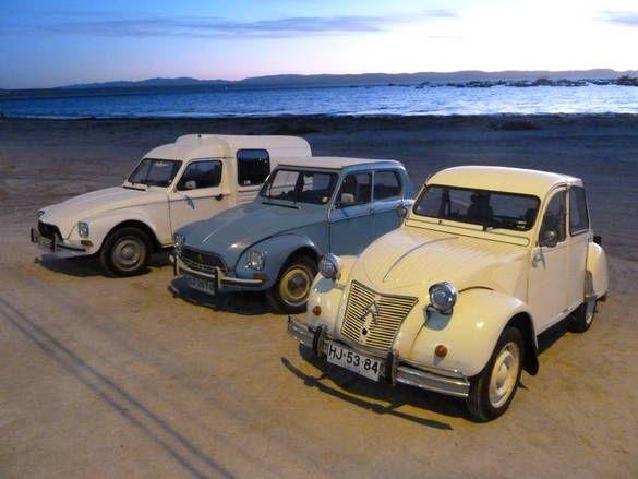 Acadyane 1985 Dyane 1968 Azl 1957 Tongoy Chile