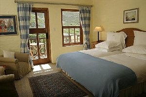 bedroom at Cape Agulhas Country Lodge