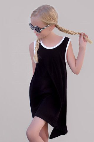 FREE downloadable pdf sewing pattern ZOZO DRESS for ALL SIZES toddlers through teen. (2t-16y)