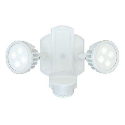 Cascadia Lighting Lambda 2-Head LED Security Light