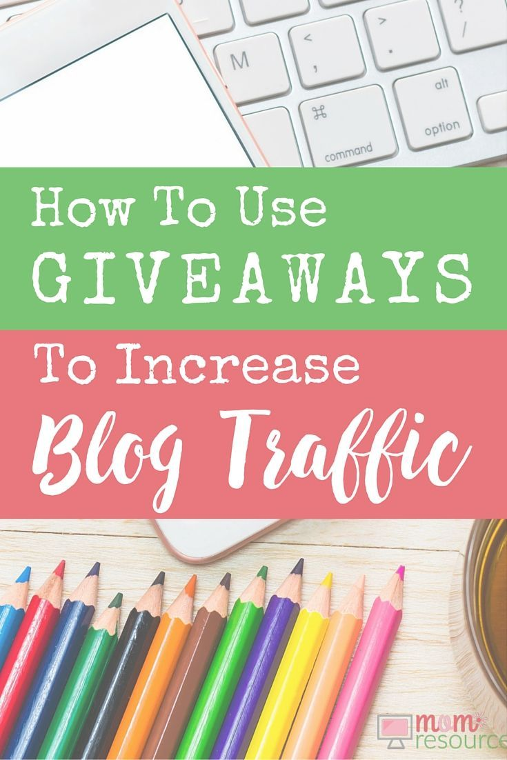 "A question I hear a lot is: ""How do I start offering giveaways on my blog?"" Heather is a stay at home mom who makes money online & attracts lots of blog traffic hosting giveaways. For new bloggers, you can host giveaways on your blog to get more traffic quickly. Here are a few simple ways to get started offering blog giveaways."