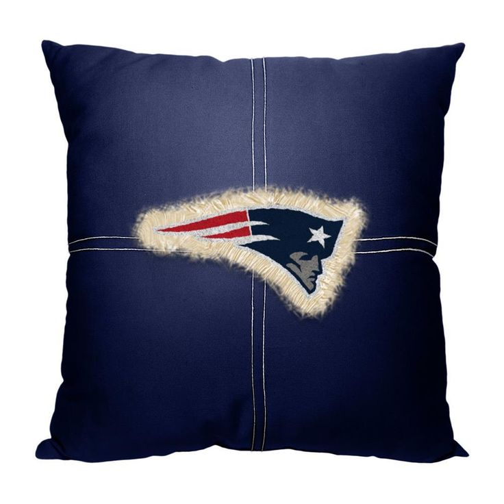 New England Patriots Letterman Pillow