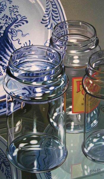 gary cody artist | Three Jars by Gary Cody
