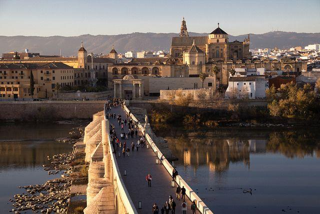 Take a stroll across The Roman Bridge in Córdoba! devourspain.com