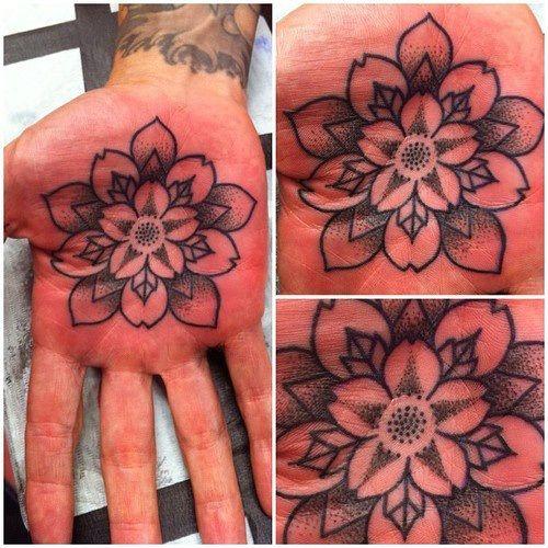 Impressive Palm Tattoos - Inked Magazine Photos