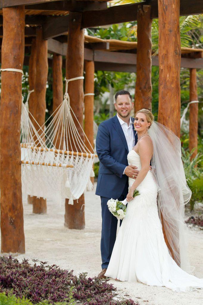 A Stunning Scene From Destination Wedding At Secrets Akumal