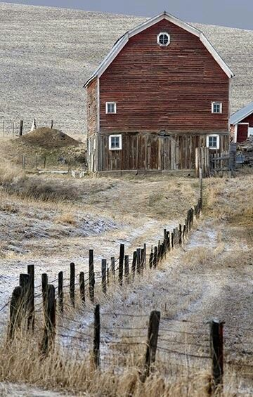 This one reminds me of the homestead where my dad was born.