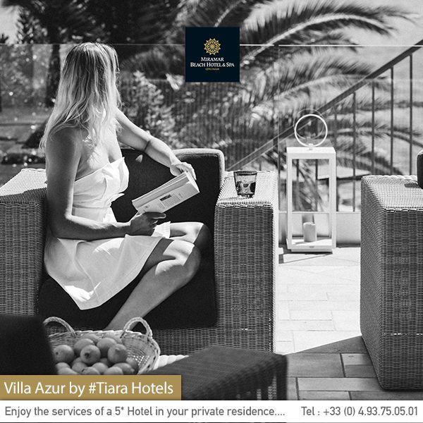 Picture yourself in our private #villa during your next stay. Imaginez-vous sur la balcon de notre villa privée. Côte d'Azur