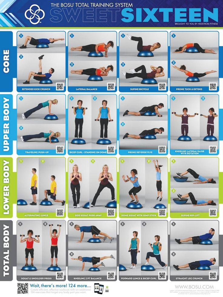 Great Bosu workout!
