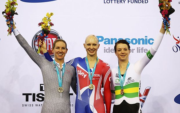 London 2012 Olympics: GB cycling champion Joanna Rowsell reveals how alopecia spurred her to gold success - Telegraph