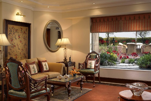 Chandragupta Suite, ITC Maurya  Inspired by the architects of the Mauryan Empire the presidential suites have been named the Chandragupta Suite, the Ashoka Suite and the Empress Suite. http://www.itchotels.in/Hotels/itcmaurya/Presidential-Suites-room.aspx