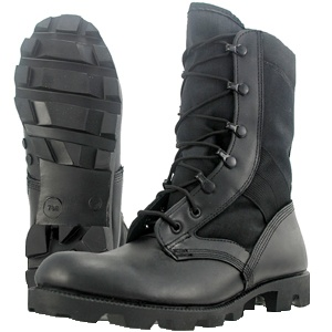 wellco boots B320 jungle combat