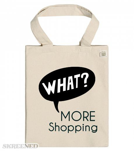 What more Shopping - ECO Tote bags