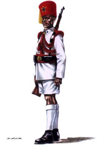 Guardia Colonial. Gran Gala. Guinea.1950