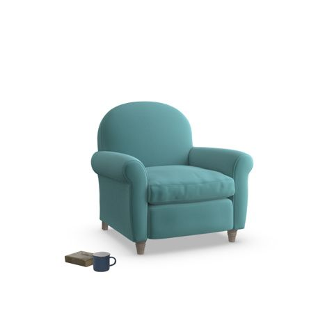 Club+|+Classic+Curved+Occasional+Chair+|+Loaf