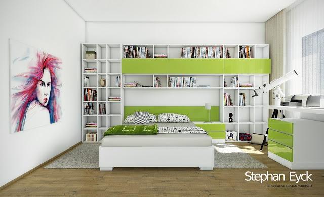 Design interior camera copil - Casa Maramures camera tineret design interior mobilier camera copil design interior casa