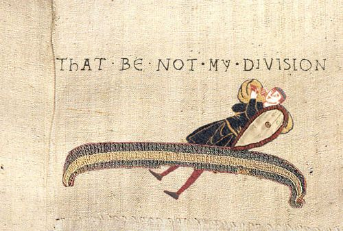 Sherlock tapestries: Not My Division