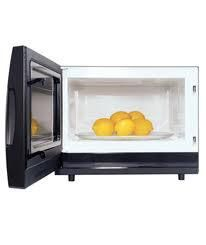 Microwave a lemon for 15 seconds and you'll double the juice you get squeezing it. MY review 2/2014: Yep works like a charm and works with limes too!