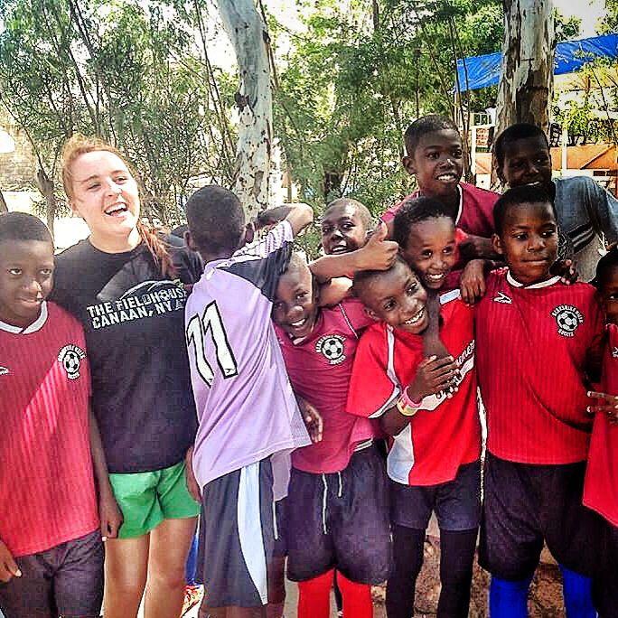 Where in the world is the Fieldhouse? In Haiti with #HotFutbol! #lovethegame #soccer #futbol