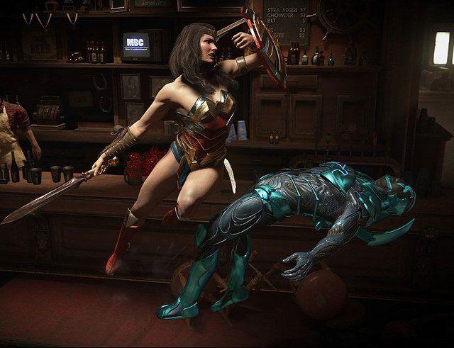 Wonder Woman et Blue Beetle rejoignent Injustice 2 - Warner Bros. Interactive Entertainment et NetherRealm Studio…