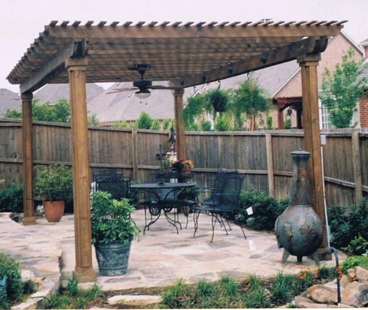 This pergola is perfect for days like today in Fargo ND! I will take one of these please!