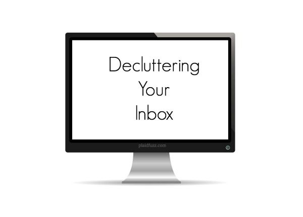A lot of us are decluttering in the New Year, but have you decluttered your inbox? Here are some simple tips for ridding the digital clutter.