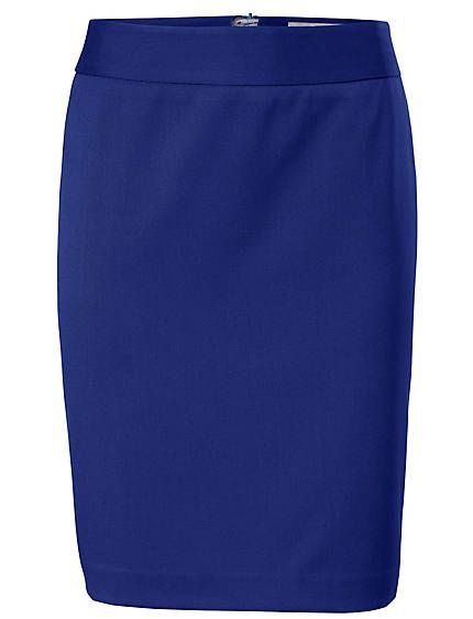 Koop Ashley Brooke - Kokerrok royalblauw in de Heine online-shop royal blue skirt see matching blazer jacket on my board blazer jackets