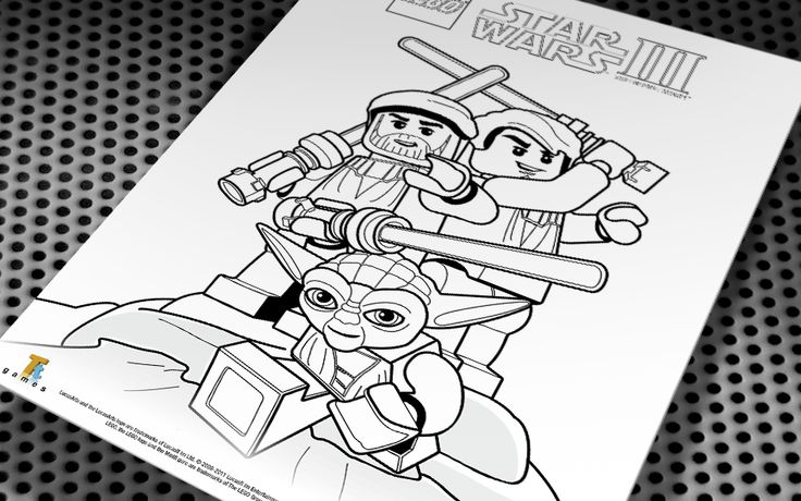 free lego star wars coloring pages Lego Star Wars