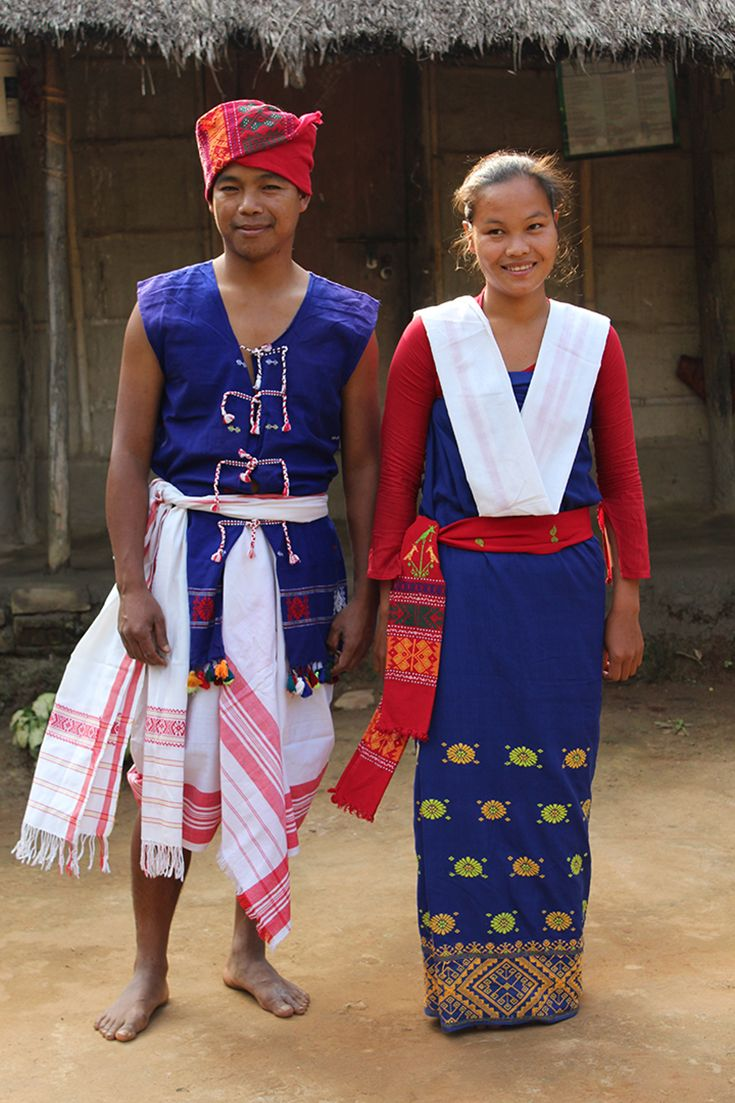The Karbi people live in North East India, this photo was taken from a village in the state of Meghalaya.