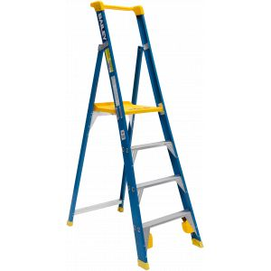 Fibreglass Platform Ladder :