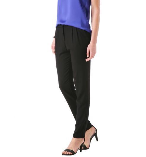 Spodnie damskie czarny - Promod