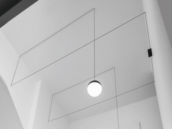 String Light Sphere Head  (klosz + kabel 12 m) - Flos | Designerskie Lampy & Oświetlenie LED