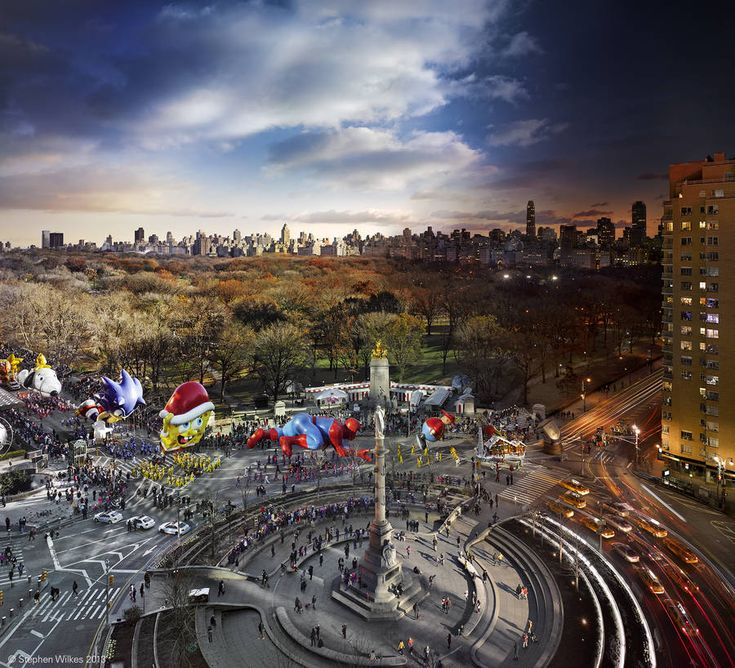 Macy's Thanksgiving Day Parade, NYC. by Stephen Wilkes