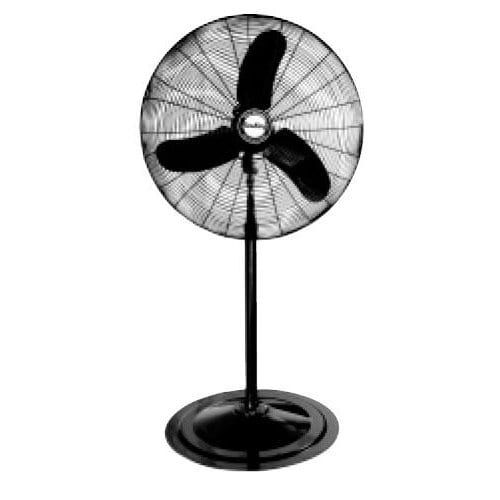 Air King 9175 30 8780 CFM 3-Speed Industrial Grade Oscillating Pedestal Fan, Black