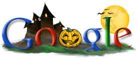 Google Doodle 101. Halloween 2002