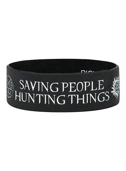 Supernatural Family Business Rubber Bracelet   Hot Topic