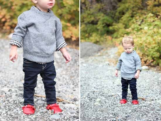 Little boys fall fashion look | perfect outfit for family photos!