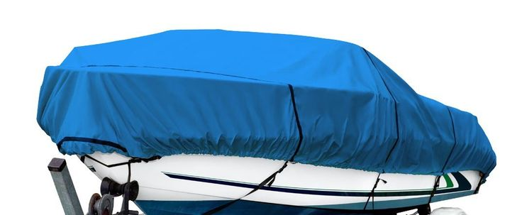 Amazon.com: Budge 600 Denier Boat Cover fits V-Hull Runabout Boats B-600-X5 (17' to 19' Long, Blue): Automotive