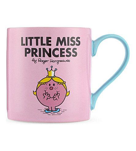 WILD & WOLF Little Miss Princess mug