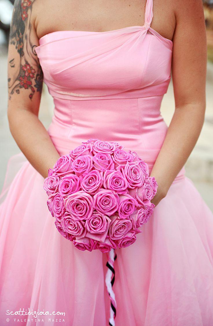 Pink bride!  foto © Valentina Mazza - www.scattidigioia.com