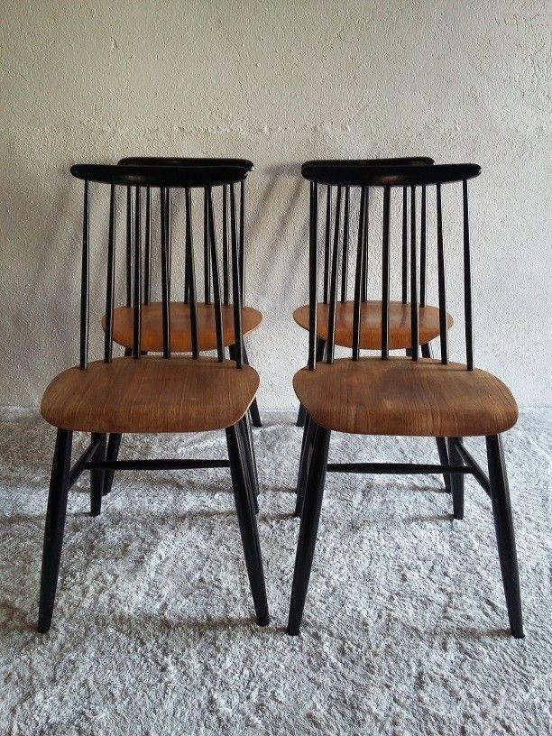 Série de 4 chaises type Tapiovaara