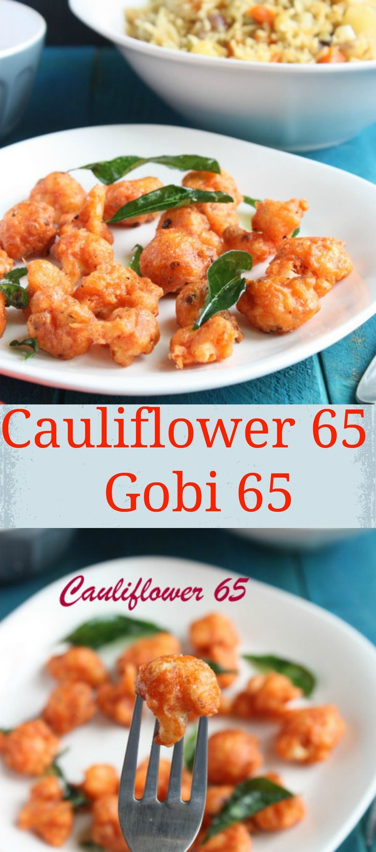 Cauliflower 65 | Gobi 65 | Evening Snacks