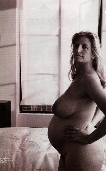 Annie Leibovitz by herself