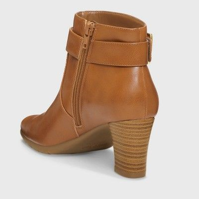 Women's A2 by Aerosoles Monorail Ankle Boots - Dark Tan 12